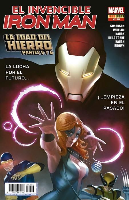 EL INVENCIBLE IRON MAN 98