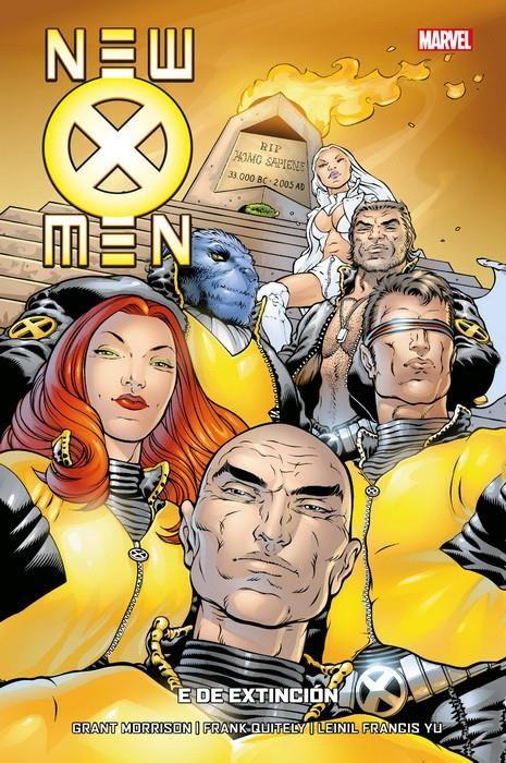 New X-Men 01 de 7. E de Extinción