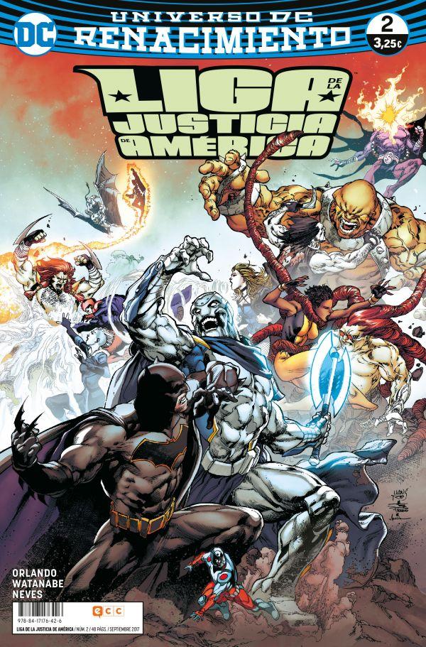 Liga de la Justicia de América núm. 02 (Renacimiento)