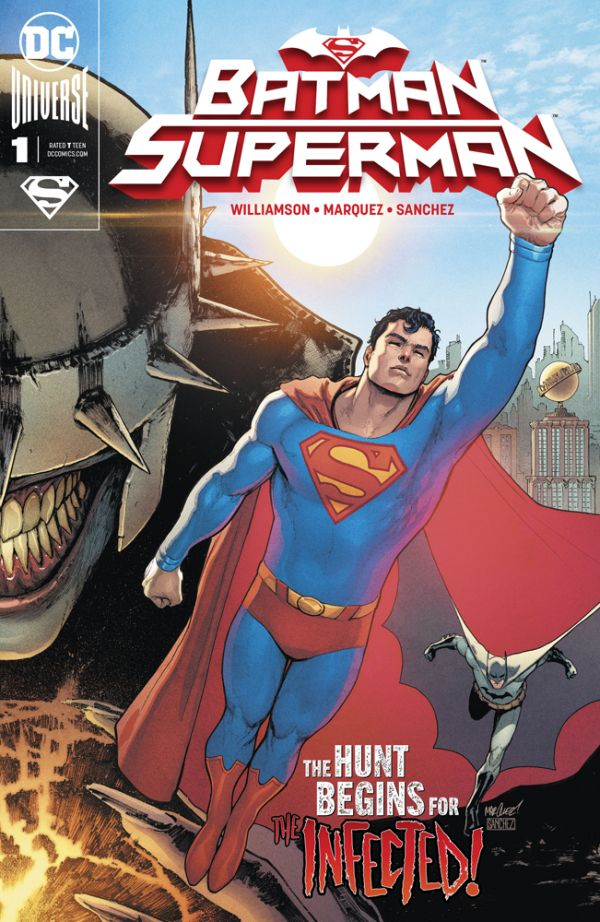 BATMAN SUPERMAN #1 (SUPERMAN COVER)