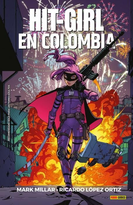 HIT-GIRL 01. EN COLOMBIA