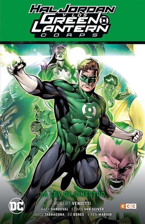 Hal Jordan y los Green Lantern Corps vol. 01: La ley de Sinestro