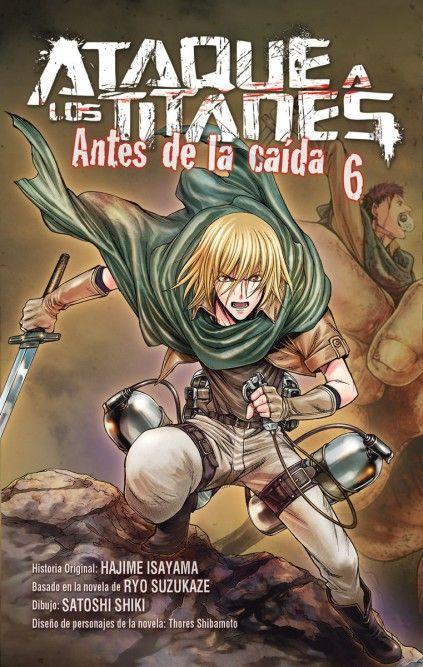 ATAQUE A LOS TITANES. ANTES DE LA CAÍDA 06