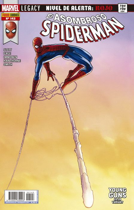 El Asombroso Spiderman 143 (Portada Alternativa)