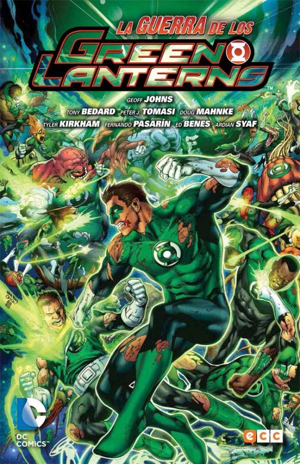 Green Lantern de Geoff Johns núm. 05: La guerra de los Green Lanterns