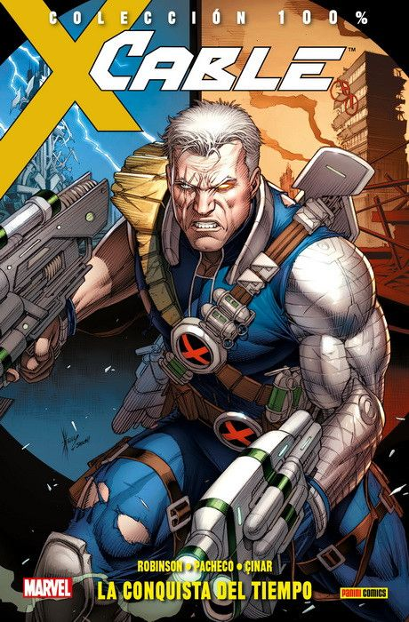 100% Marvel. Cable 01