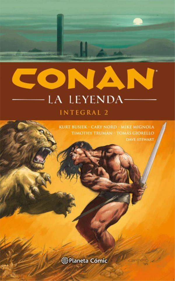 Conan La leyenda Integral 02 (de 4)