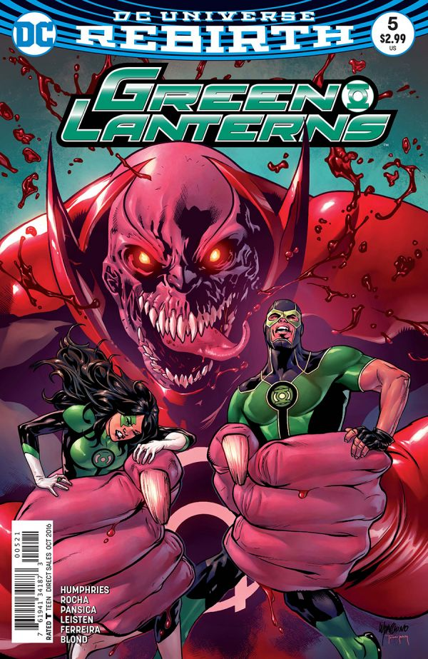 GREEN LANTERNS #5 VAR ED
