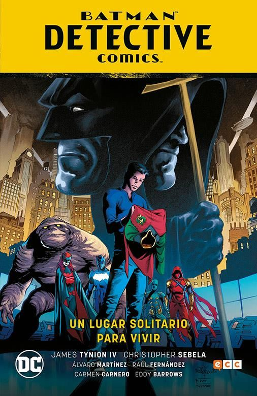 Batman: Detective Comics vol. 05: Un lugar solitario para vivir