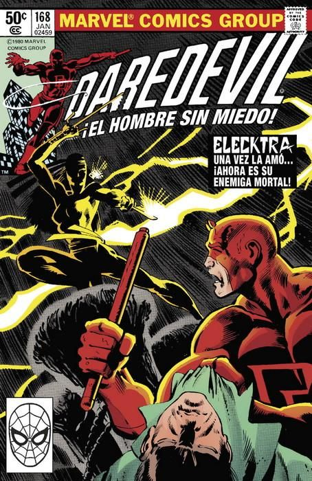 Marvel Facsímil. Daredevil 168