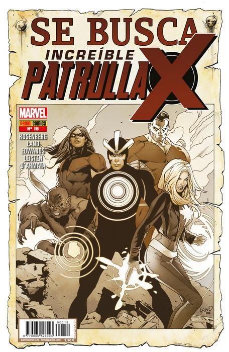 INCREÍBLE PATRULLA-X 15