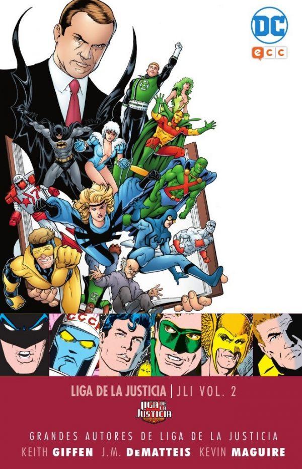 Grandes autores de la Liga de la Justicia: Keith Giffen, J.M. Dematteis y Kevin Maguire - JLI Vol.02