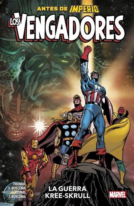 Los Vengadores: La Guerra Kree-Skrull (Marvel Premiere)