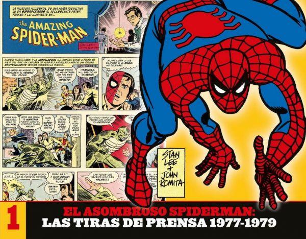 El Asombroso Spiderman: Las Tiras de Prensa 01
