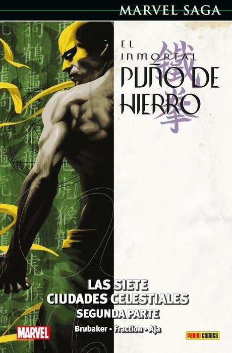 MARVEL SAGA. EL INMORTAL PUÑO DE HIERRO 03