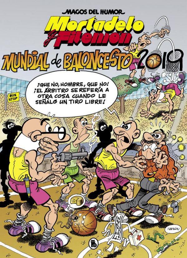 Magos del humor 200: Mundial de Baloncesto 2019 (Mortadelo y Filemón)