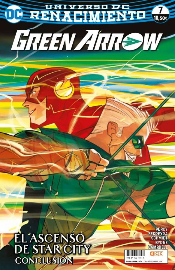 Green Arrow núm. 07 (Renacimiento)