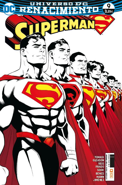 Superman núm. 09 (Renacimiento)