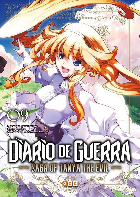 Diario de guerra - Saga of Tanya the evil 09