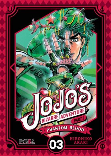 JOJO'S BIZARRE ADVENTURE. PART I : PHANTOM BLOOD 03