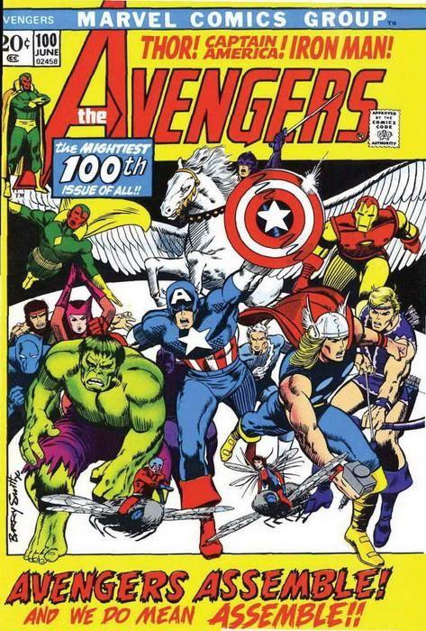 Marvel Facsímil. The Avengers 100