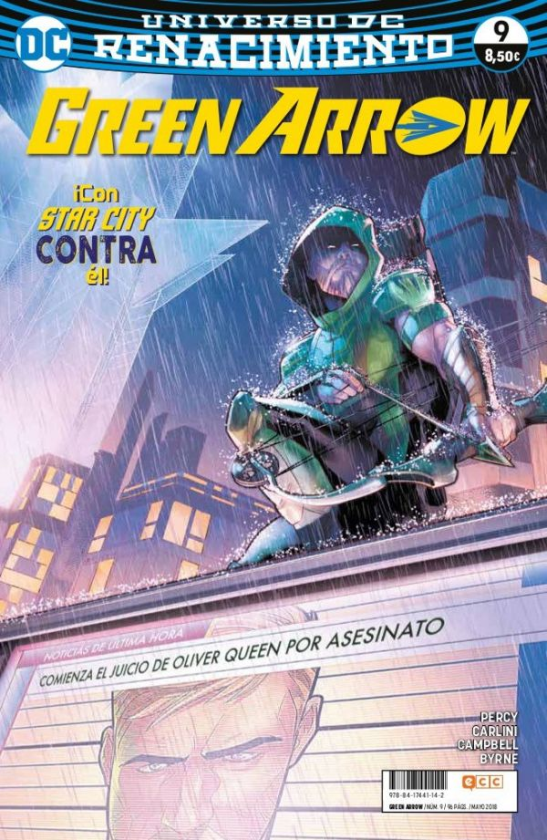 Green Arrow núm. 09 (Renacimiento)