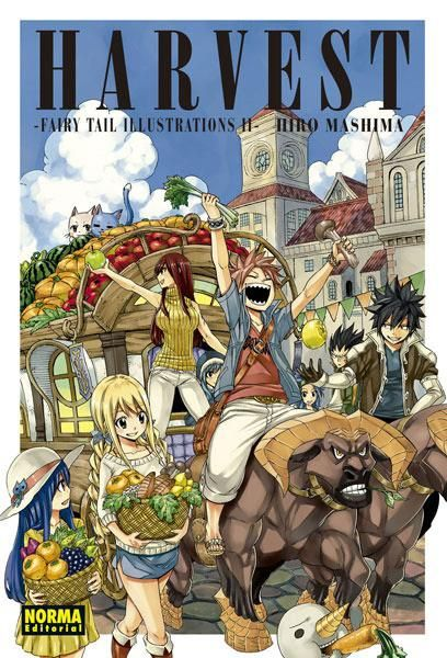 HARVEST. FAIRY TAIL ILLUSTRATIONS
