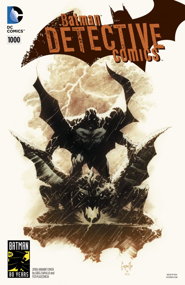 DETECTIVE COMICS #1000 (VARIANT COVER 2010 GREG CAPULLO)