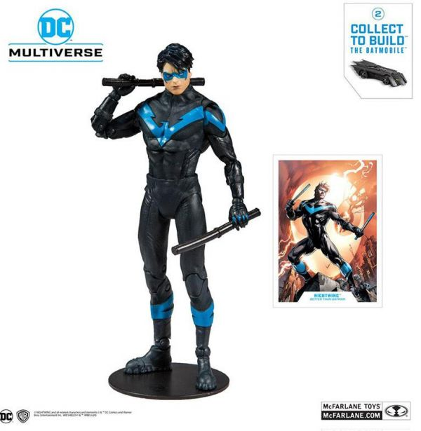 DC Rebirth Figura Build A Nightwing (Better Than Batman) 18 cm