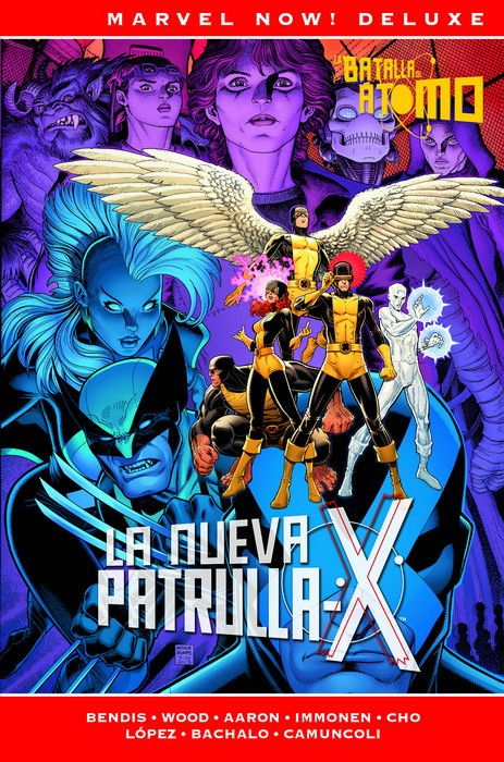 Marvel Now! Deluxe. La Patrulla-X de Bendis 03