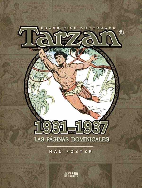 Tarzán: 1931 - 1937. Las páginas dominicales